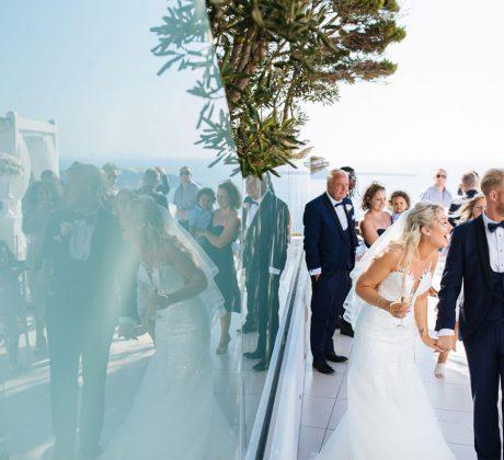 Chris & Jodie - Le Ciel Santorini