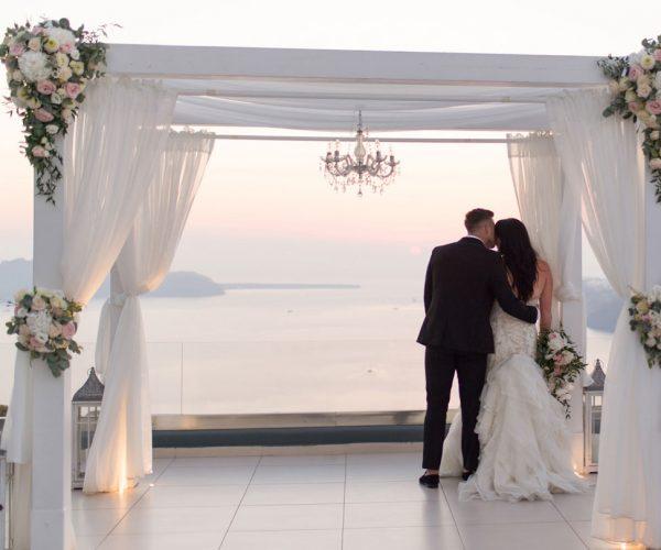 Kaylie & Brett - Le Ciel Santorini
