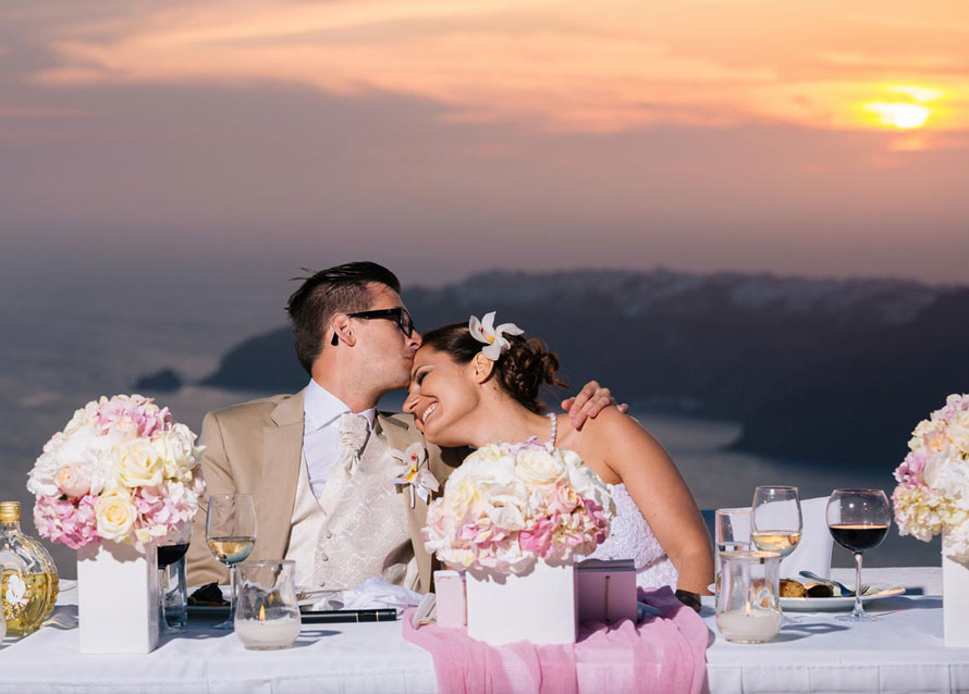 Santorini Wedding Stories