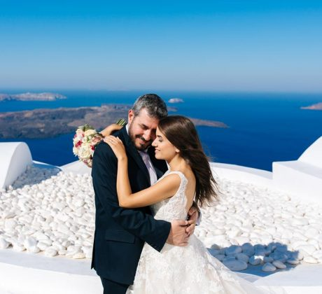 Santorini Wedding Photos