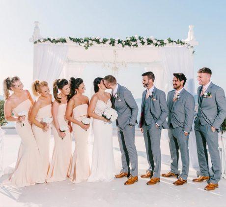 Santorini Wedding Photos