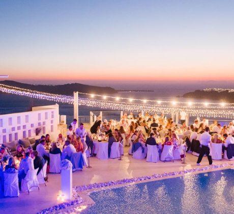 Santorini Wedding Photos - Chloe & Jack