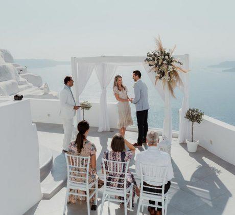 Santa Irini Wedding